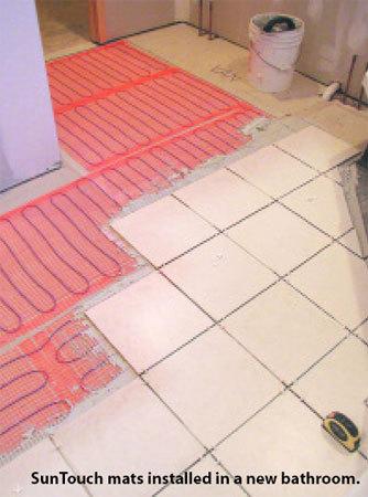 SunTouch Floor Heating Mats 100 sq ft