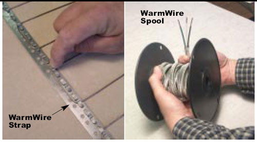 SunTouch Radiant Floor Heating WarmWire Kits 10 sq