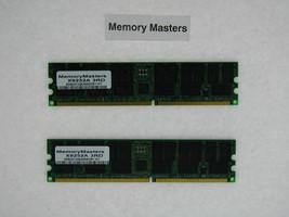 X9252A 2GB (2x1GB) 184pin PC2700 ECC DDR Memory for Sun Fire V20z