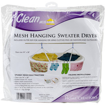 "Innovative Home Creations Jumbo Sweater Dryer 54""X28""-White - $30.59"