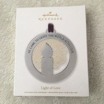 Hallmark Keepsake Light Of Love Christmas Ornament New In Box - $9.88