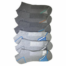 FILA Men's 6 Pack Classic Sport Athletic Gym Moisture Control Absorb Dry Socks image 7