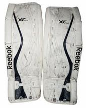 """REEBOK X24 JUNIOR GOALIE XLT LEG PADS - ICE HOCKEY 30"""" +1 VINTAGE JR GOA... - $124.88"""