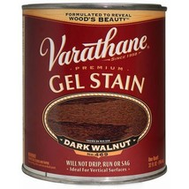 Varathane 224493H Premium Gel Stain, Quart, Dark Walnut - $26.07