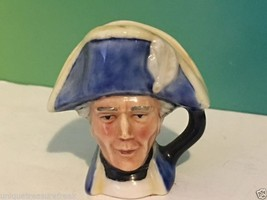Vintage Franklin Mint Toby Mug 1982 English Heritage Figurine Hornblower Blue - $19.75