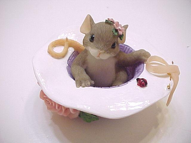 Primary image for Fitz And Floyd Charming Tails I'll Be Right Here For You Mouse Figurine
