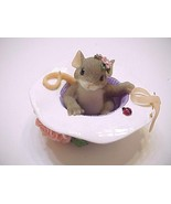 Fitz And Floyd Charming Tails I'll Be Right Here For You Mouse Figurine - $24.99