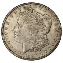1897-O $1 Dollar Morgan en au État , Nice Oeil Appeal, Fort Luster ! image 1