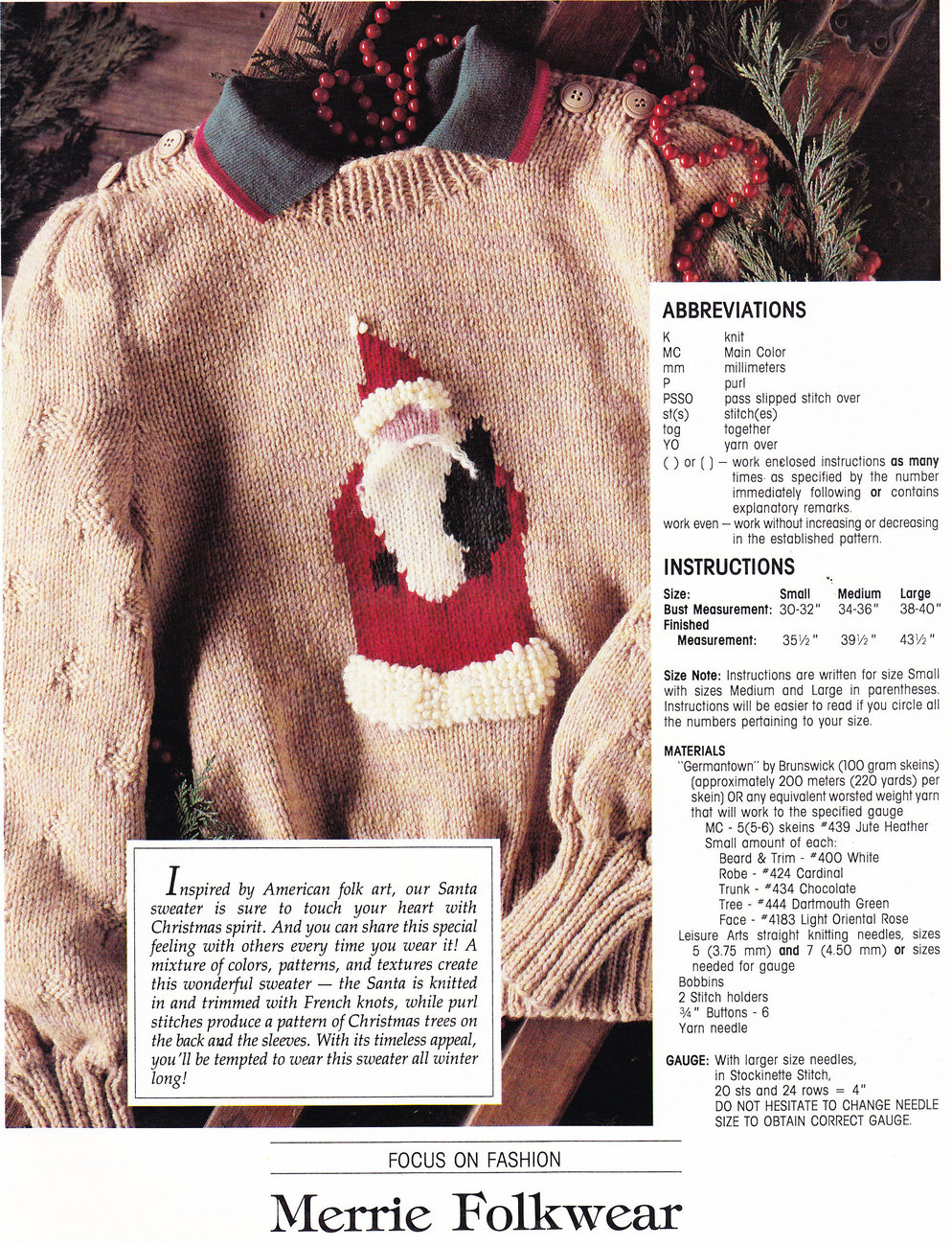 LEISURE ARTS MAGAZINE DEC. 1988 CROSS STITCH CROCHET CRAFTS
