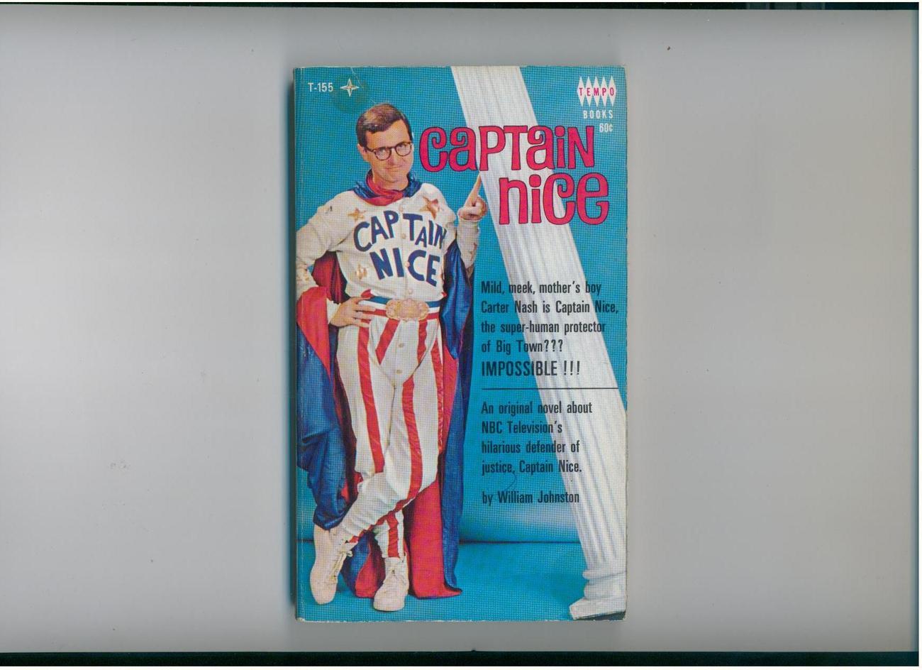 CAPTAIN NICE-1967-vintage tv tie-in--dare I say, NICE copy!