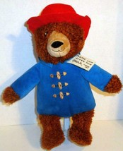 "KOHLS CARES FOR KIDS 2016 PADDINGTON TEDDY BEAR 14"" STUFFED PLUSH DOLL TOY - $4.99"