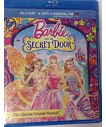 Barbie And The Secret Door Blu-Ray and DVD Fairytale Musical 2014 - $11.88