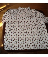 """Ugly Christmas Shirt for Sweater New Trees Bells Stars SZ XL 44"""" Chest U... - $8.00"""