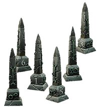 Spellcrow Game Accessories Necrolith Objective Counters