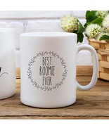 New Mug - Dorm Mug Roommate Gift Best Roomie Ever Roommate Mug - $10.99+