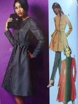 Butterick Sewing Pattern 5966 Ladies Misses Jacket Coat Belt Size 8-16 New - $17.13
