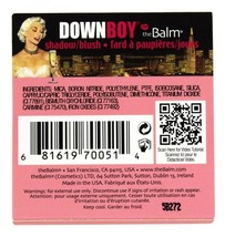 theBalm - Down Boy Blush Matte Baby Pink - 0.35 oz.