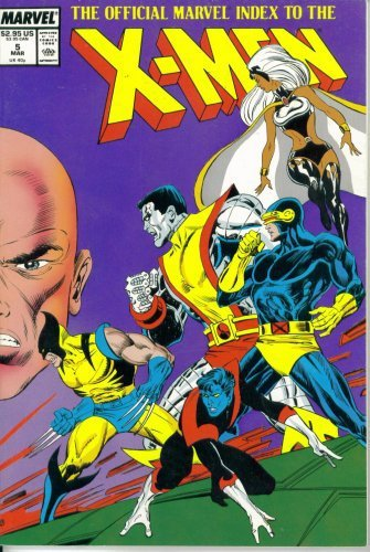 The Official Marvel Index to the X-Men Vol. 1 #5 (Marvel Comics) [Paperback] ...