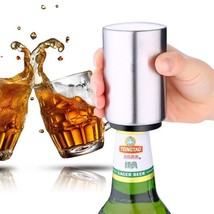 Fypo® Automatic Jar Opener Creative Stainless Steel Opener Beverage Bott... - £4.21 GBP