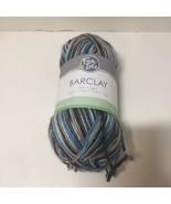 1 Skein Barclay Yarn Fair Isle 3.5 oz Light Worsted Wool Merino Blend Sh... - $7.84