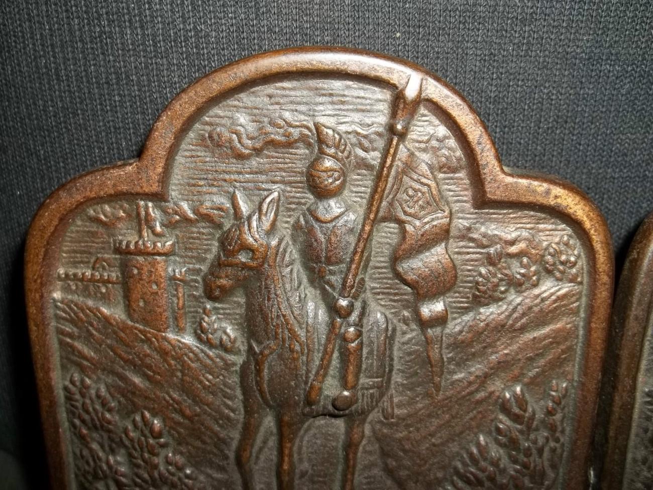 Bronze Plated Cast iron Spanish Conquistador and 50 similar
