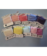 China Silk Ribbon 4mm 10 packs  - $25.50
