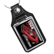 1968 Red Line Custom Camaro Hot Wheels REPRODUCTION Design Leather Key R... - €10,72 EUR