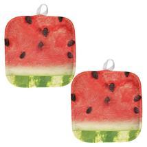 Watermelon Seeds Summer All Over Pot Holder (Set of 2) - $18.95
