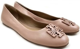 Tory Burch Melinda Ballet Flats Powder Make Up Coated Leather Ballerina ... - $149.00