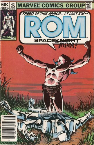 ROM: Spaceknight #43 June 1983 [Comic] by Bill Mantlo; Sal Buscema
