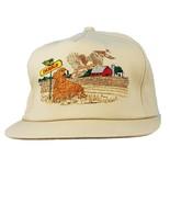 Dekalb Hat Seed Corn Wildlife K Series Cap Beige Advertising Farm Scene Dog - $28.49