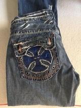Mens Laguna Beach Jean company jeans size 34x35 - $21.77