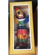 "Vintage Effanbee Clown- The Big Top #1550- Homer Clown 15"" tall in box - $49.49"