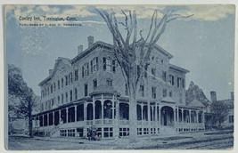 Old Undivided Back Era Postcard Conley Inn, Torrington, Connecticut 1908  - $19.55