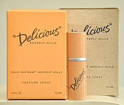 Gale Hayman Delicious Beverly Hills Pure Parfum Extrait 7,5 ml 1/4 Fl. O... - $120.00