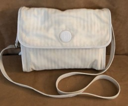 FENDI vintage canvas bag off white purse cross body adjustable tote Made Italy - $142.50
