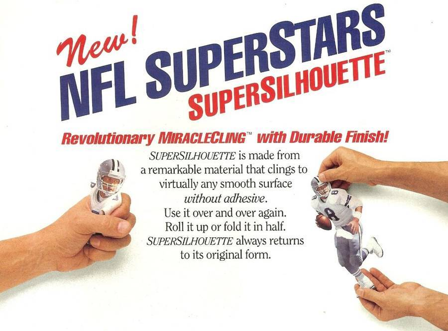 nfl superstars fat head supersilhouette randall cunningham phil eagles