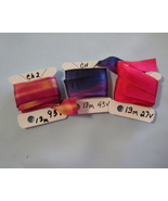 China Silk Hand Dyed Ribbon 13mm 3 packs - $14.88