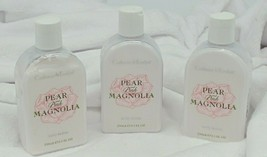 Crabtree Evelyn Pear & Pink Magnolia Body Lotion 8.5 fl oz lot of 3  - $38.30