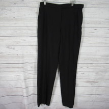 Giorgio Armani Pants Womens 46 Black Slacks Italy - $22.46
