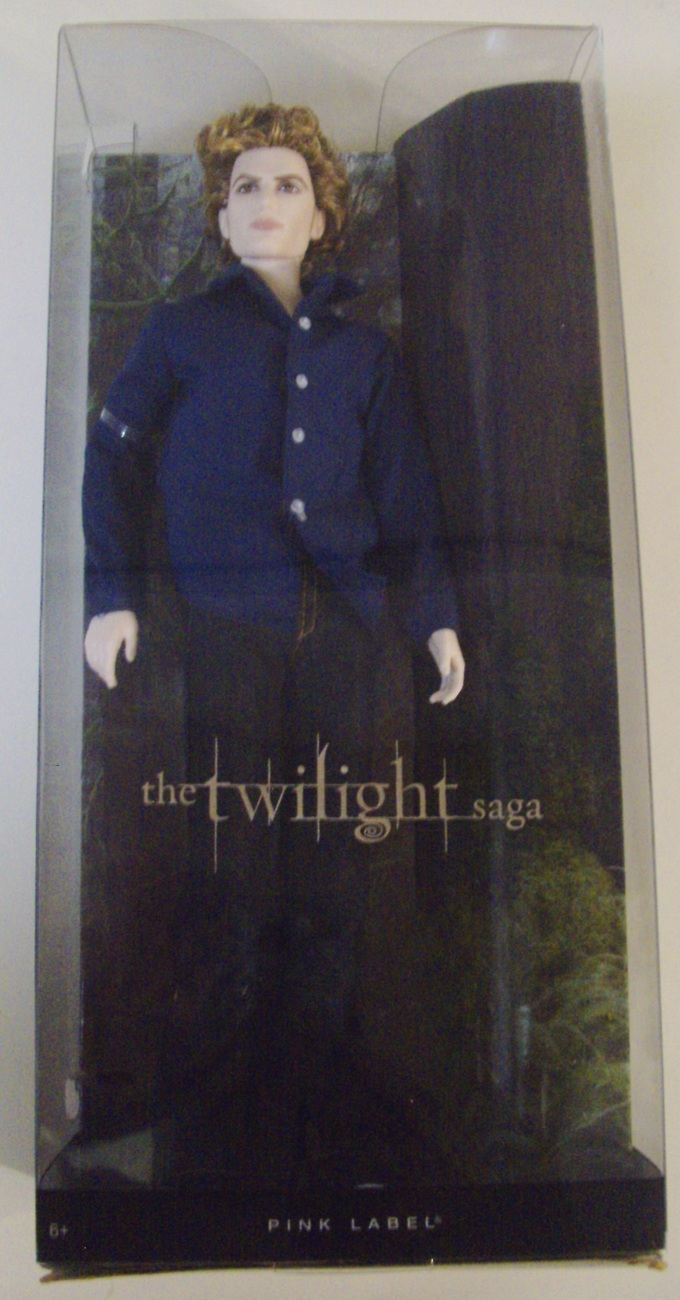 Primary image for Barbie Pink Label The Twilight Saga Jasper collector doll - Like New