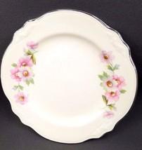 "HOMER LAUGHLIN VIRGINIA ROSE 6"" BREAD PLATE (S)  MORE in store !! - $5.95"