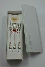 "Cambridge by Gorham Sterling Silver ""I Love You"" Serving Set 3pc Custom Made - $195.00"