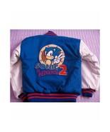 Sonic The Hedgehog Letterman Varsity Bomber Jacket - HALLOWEEN COSPLAY COSTUME - $99.99