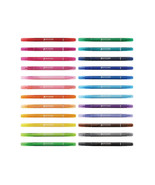 Tombow PLAY COLOR K GCF-012 Water Based Drawing Twin Marker Pens 24-Colo... - $42.99