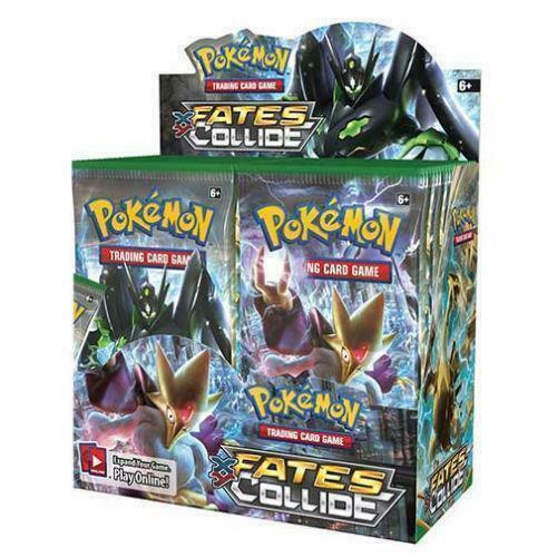 Pokemon TCG Sun & Moon Team Up + XY Fates Collide Booster Box Bundle