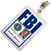 Walter Skinner X FILES FBI ID Badge Name Tag Card Prop for Costume Cospl... - £7.64 GBP