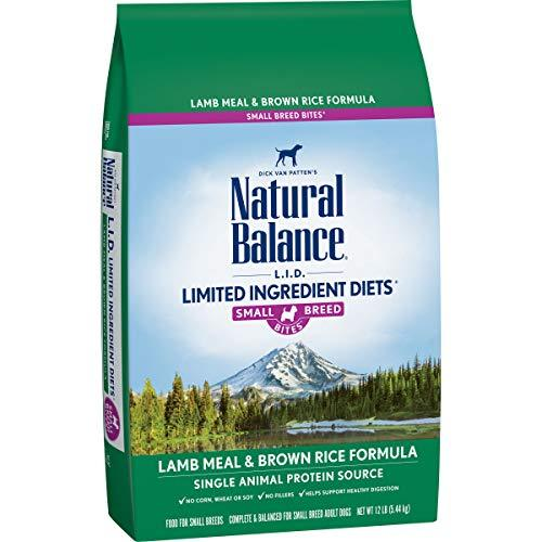 Natural Balance L.I.D. Limited Ingredient Diets Small Breed Bites Dry Dog Food,  - $98.45