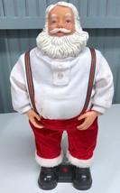 "Santa Claus 14"" Christmas Talking Bending Battery Operated Figure *SEE V... - $16.56"