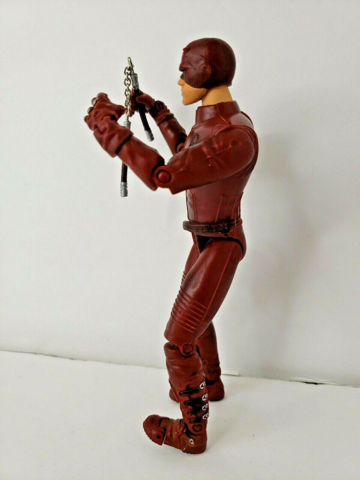 "Daredevil Movie Action Figure 2002 Marvel 6"" Affleck with Nunchucks image 3"